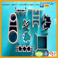 different kinds of anodized extrusion industry aluminum profiles