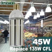 UL E39 Aluminum Led For Street/LED Corn Lights/LED Light For Garden /Led E 27 Light 45W/LED Bulbs 220V