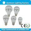 3w 5w 7w 9w 12w e27 b22 ce rohs low price high temperature resistant led light bulb
