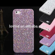 Chrome Sparkle Glitter Shine Bling Hard Back Case Cover For Apple iPhone 5 5S