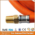 El certificado del ce pvc l. P. De gas de la manguera con conector de cobre para el mercado de rusia