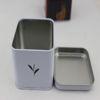 China Wholesale Metal Square Tea Tin Can
