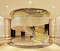 estupendo chalet de lujo de diseño de interiores de mármol natural de la escalera decorativa puertas
