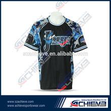 custom sublimation t-shirt sports t-shirt