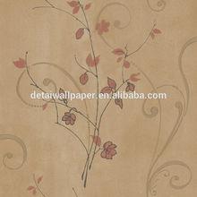 Detai non-woven fabric wallpaper