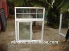 grill design pvc siding window double panel