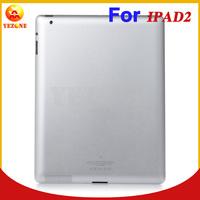 Original Rear Cover For Apple iPad 2 3G Wifi Version Silver Aluminum Battery Back Cover Door Housing Repair Parts
