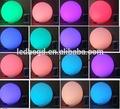 cálido y dulce el cambio gradual de brillo de la lámpara de vacaciones creaciones stylelist ronda led bola ballmood rgb luces con pilas ta