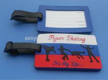 Russia Figure Skating travel luggage tag