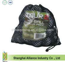 Small Sports Gear Drawstring Nylon Mesh Bag