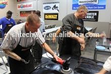 P1802 6'' super wax car spray wax car polish with wood car polishing bonnet