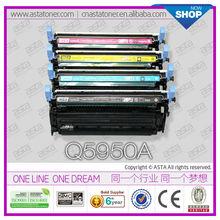 ASTA compatible toner cartridge hp q5950a q5951a q5952 high quality compatible toner cartridge hp q5950a q5951a q5952