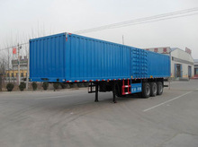 3 Axle Dry Van Semi Trailer,Cargo Box Trailer