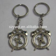 2014 keychain wholesale fashion clock keychain