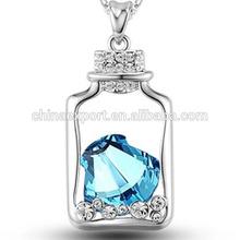 Fashion jewelry glass locket pendants