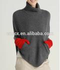 14STC9903 cashmere poncho cashmere sweater