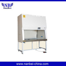 100% Exhaust single person Biological safety cabinet Timer function , VFD display , Filter life inquiry
