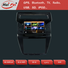 HuiFei Touch Screen Car DVD for Citroen C4 with 3D UI Virtual Disc Backlight 7 Colors