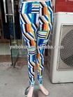 woman`s tight leggings punched lace material leggings ladies formal leggings