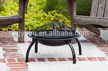 Popular 26inch folding firepit outdoor living