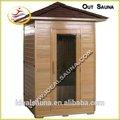 Infrarrojo lejano sauna de la bóveda, 2 persona exterior sauna, Nuevo diseño móvil sauna