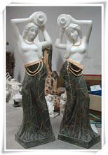 Excellent art dancer granite stone garden sculpture