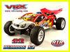 Vrx 1/10 scale nitro rc car, petrol powered rc car, toy car petrol engine GO18 wholesale rc cars