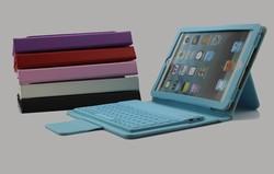 Factory Direct wireless bluetooth keyboard case for ipad mini 2