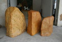 2014 SJ AR004 Artificial stone fiberglass stone artificial landscape stone for park,garden decoration