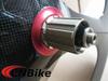 Toray T700 full carbon fiber tri spoke tubular wheel,super light carbon road bike tri-spoke rear wheel with 3K glossy finish