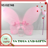 2014 new intelligence plastic costume cheap butterfly wings