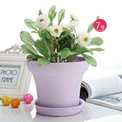 Agriculture Outdoor Gazebo Plastic Rattan Flower Pots
