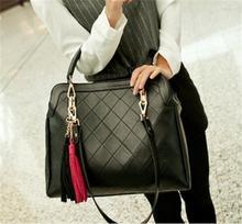 2014 Women Leather Handbags Quilted Shoulder Bag Top Handbag