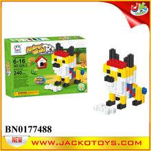 MIni Building Block Kid Puzzle Games DIY Creative Brick Dog