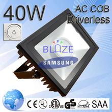 AC COB LED High Lumen Waterproof Flood Light 40w High Lumen LED Lighting Flood