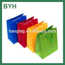 customer printed cheap paper shopping bag on china alibaba