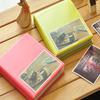 fancy cheap plastic photo album with slip-in pocket