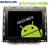 "12"" open frame interactive lcd screen monitor HDMI/VGA/AV/USB"