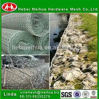 High quality round welded gabion box/steel gabion wire cage/hexagonal gabion box(professional manufacturer)
