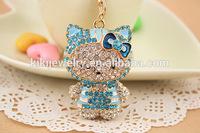 small kitty pendant animal keychain jewelry