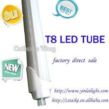 t8 fluorescent to led conversion 22w 18w 13 w 9w SAA/TUV/KC/CE/CB Al+PC/Glass/Plastic SMD2835/3014 Epistar chip China factory
