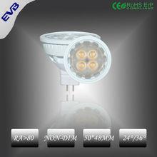 AC85-265V LED Spot light, 5w smd mr16 led spotlights with CE ERP