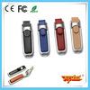 Hot sale 64gb cheap leather case usb flash drive