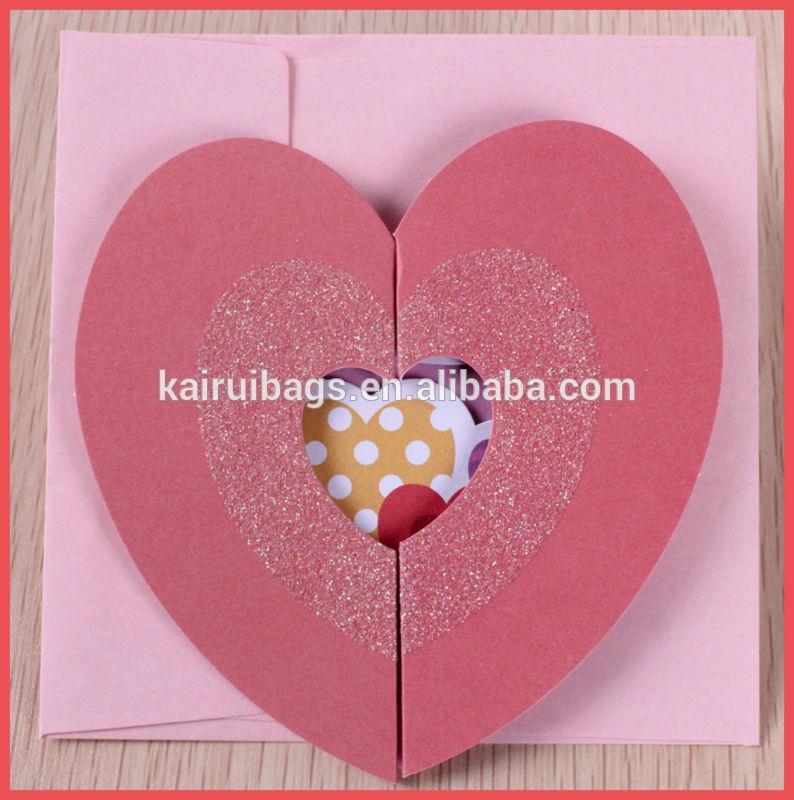 Handmade Cards Hearts Heart Shape Handmade