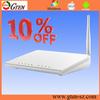 online anytime 10% discount 150M 4 lan port adsl modem power supply 802.11b/g/n