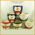 hotsale decoración de la navidad flor olla de cerámica