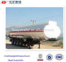 60000L oil/fuel tanker semi-trailer /45000L oil tank truck trailer for africa