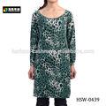 de lana mujer vestido de leopardo
