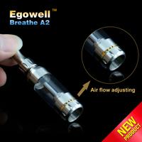 Wholesale mechanical mod! Egowell promotional vapor Breathe A2 sweet puff glass pipe pioneer e cigarette vapor puffs e cigarette