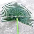 Alta calidad artificial de la hoja de palma, Poste de acero de la tela decorativa hoja de palma
